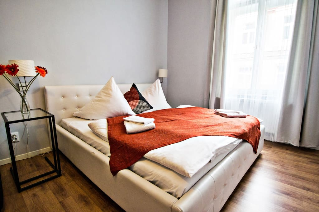 We'll provide you with bed linen and towels