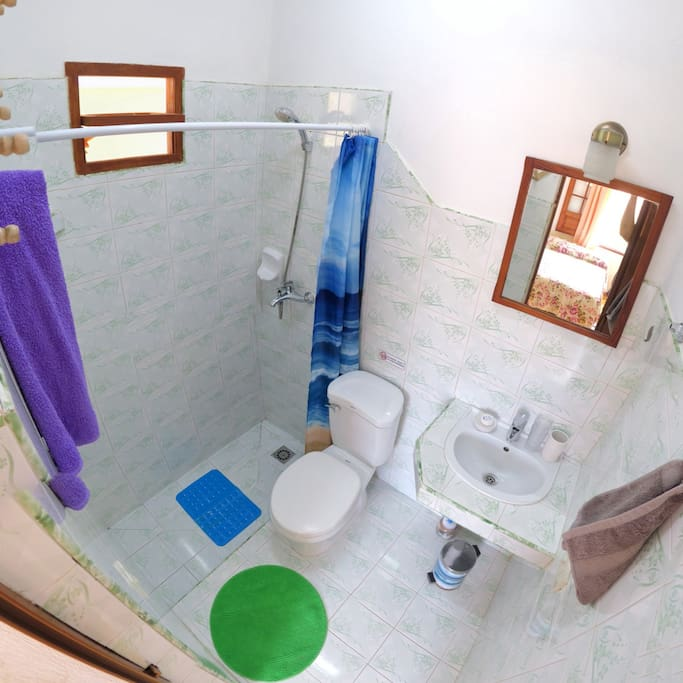 Private Bathroom-Room 1