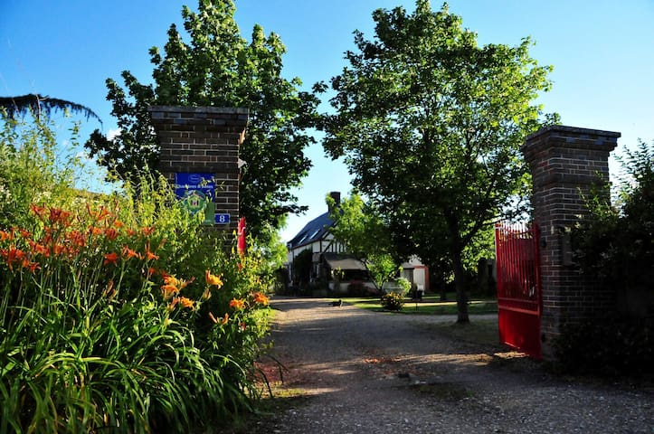 chambre d'hôtes  le jardin des pâtissons - La Forêt-du-Parc - Bed & Breakfast