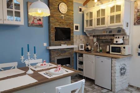 Mendei Vendégház Deluxe Blue Apartman