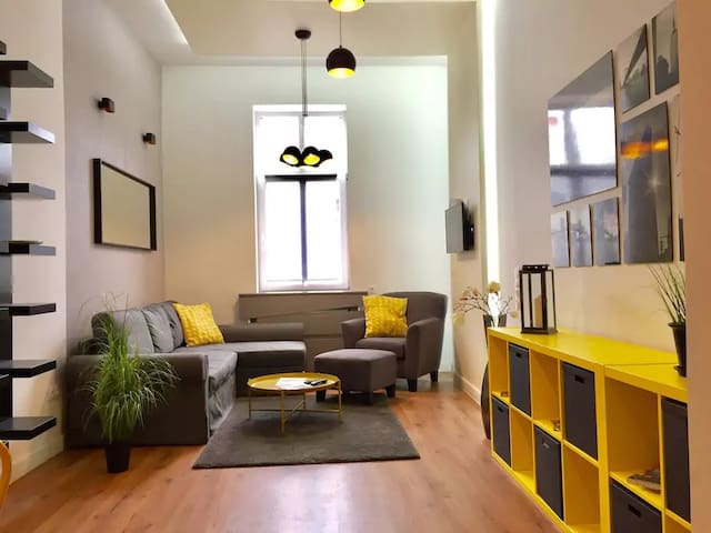 Holiday home in the heart of the city
