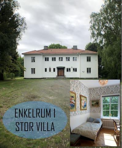 Rum 8 min till Örnsköldsvik Centrum Höga Kusten
