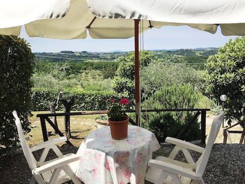 Verde del Picchio: Home with swimming pool