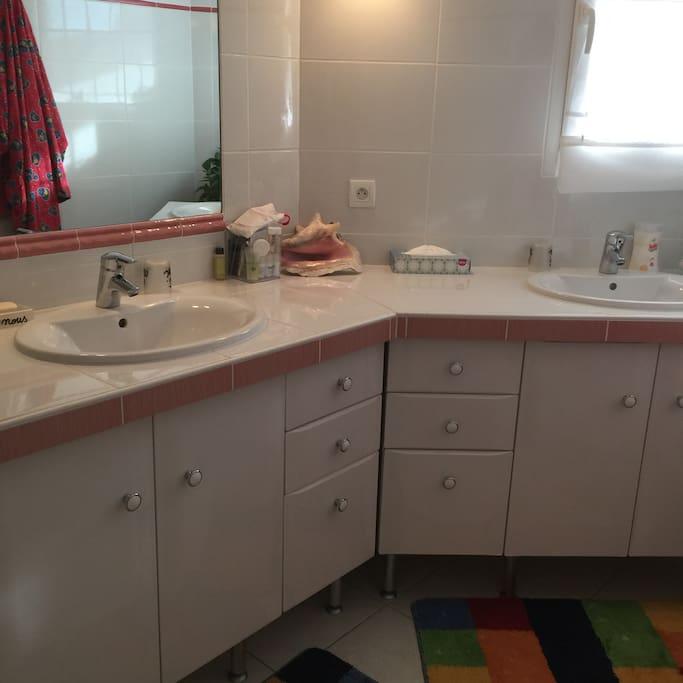 Salle de bain 2 vasques