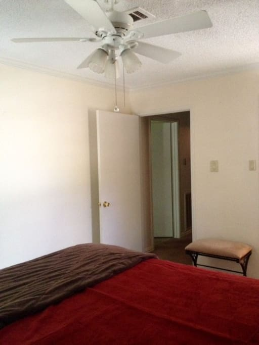 Another view of room, exit to hallway.