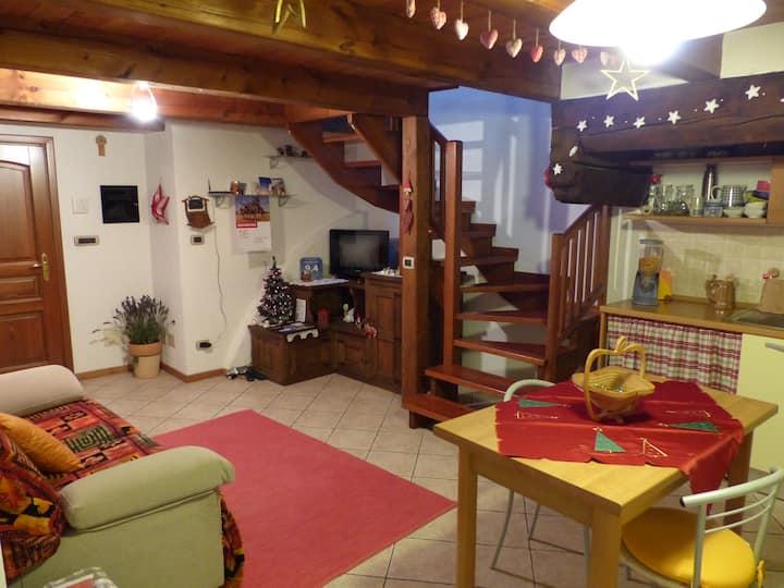 Appartamento, b&b Vecchio Torchio - BARD -