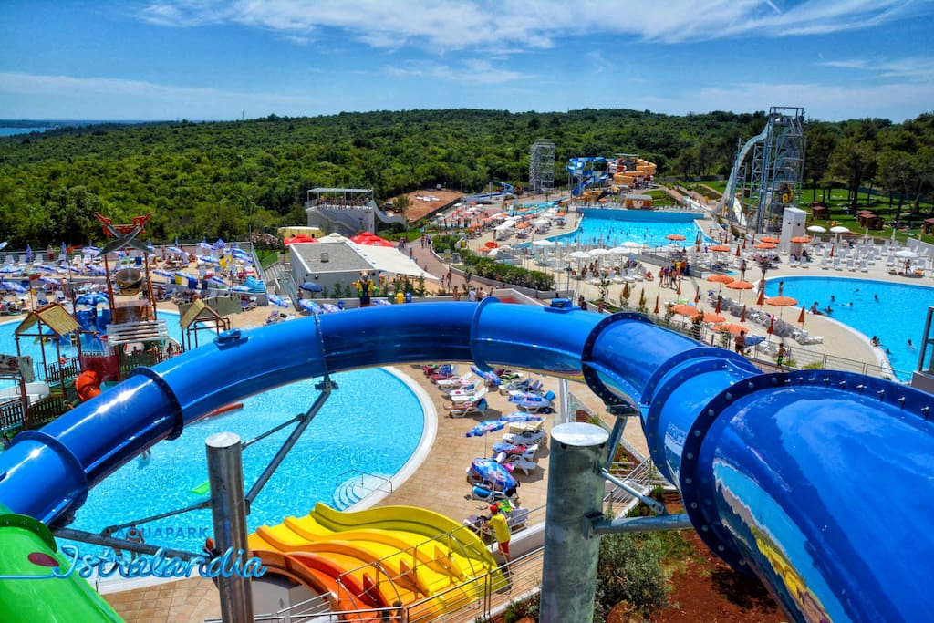 After only 5 minutes drive, you will find yourself in Istralandia, the biggest and most famous aquapark in Croatia. This makes our apartment a hot spot for active travelers.