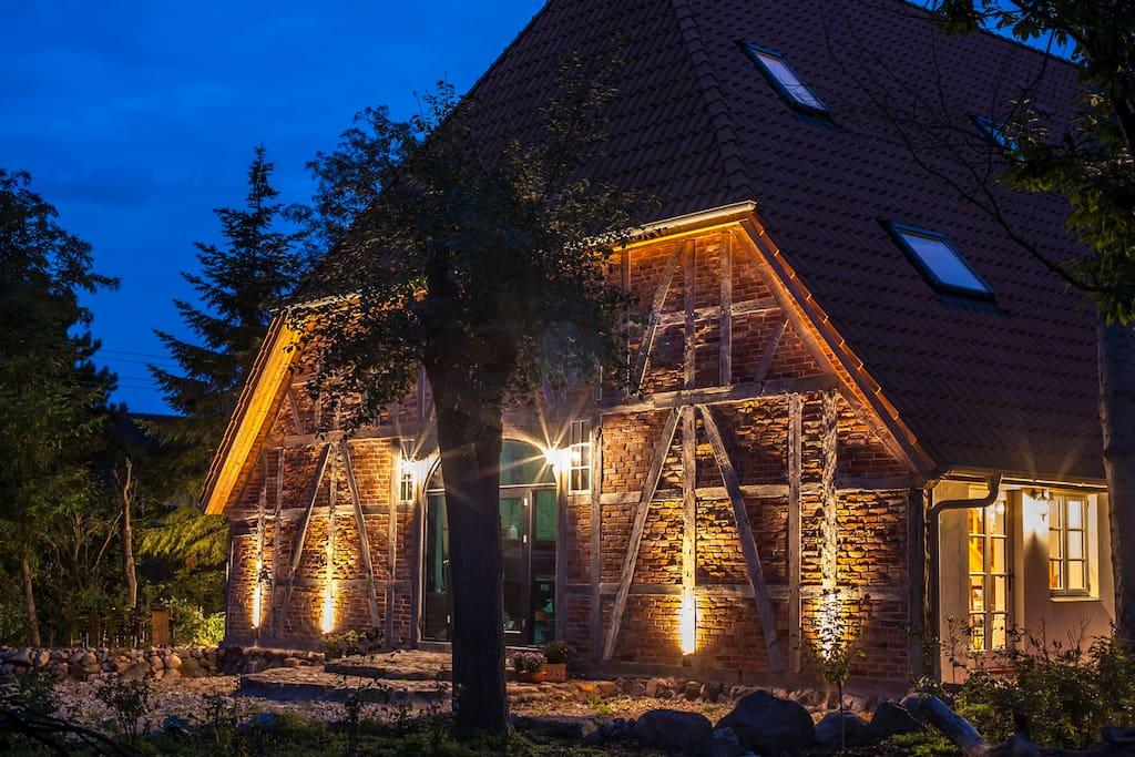 wohnen im fast 200 Jahre alten Bauernhaus