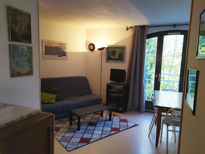 Appartement vue montagne dans résidence calme