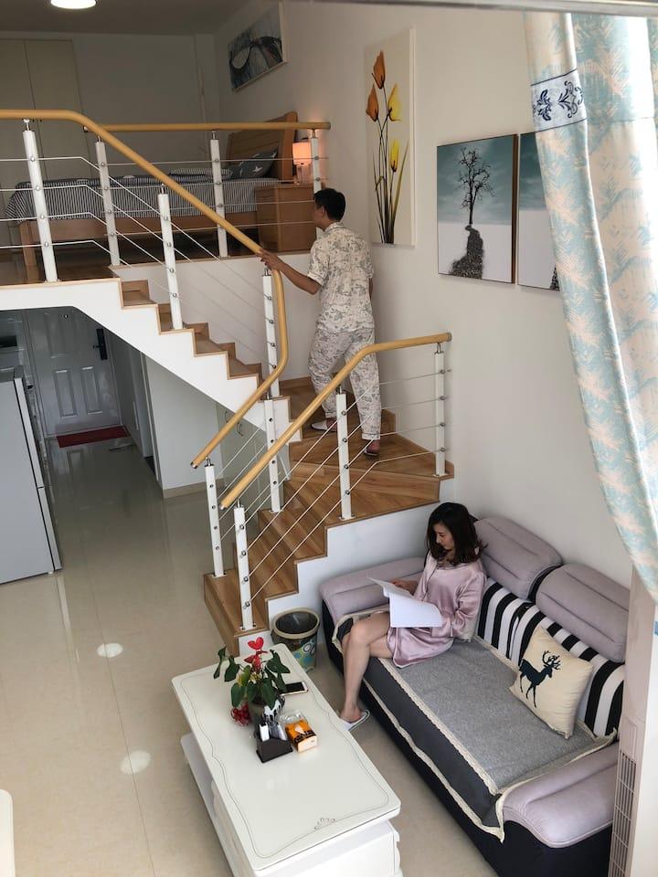 如家小憩-loft茉莉公寓