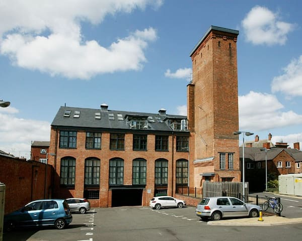 Victorian Water Tower with secure parking - Leicester - Appartement