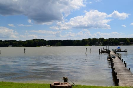 Delightful Waterfront Cottage in Southern Maryland - Newburg - Talo