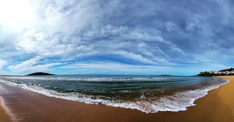 Sossego e tranquilidade a poucos metros do mar