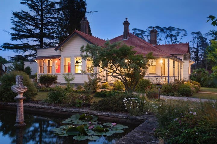 Mark Foy House - Heritage Homestay - Medlow Bath - Hus