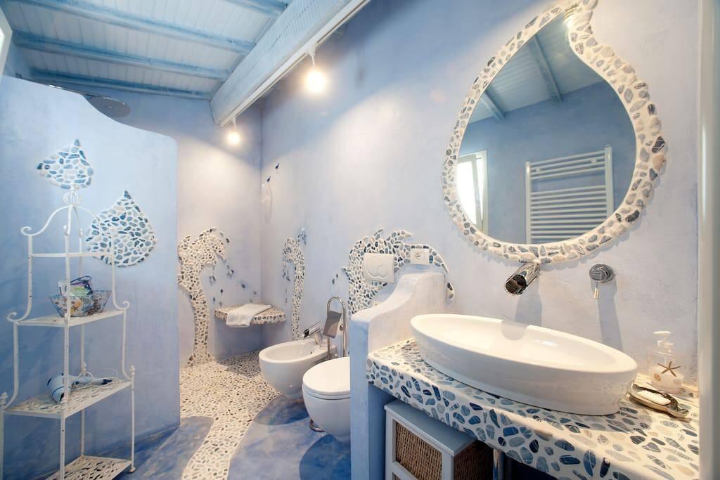 bagno Infinito blu
