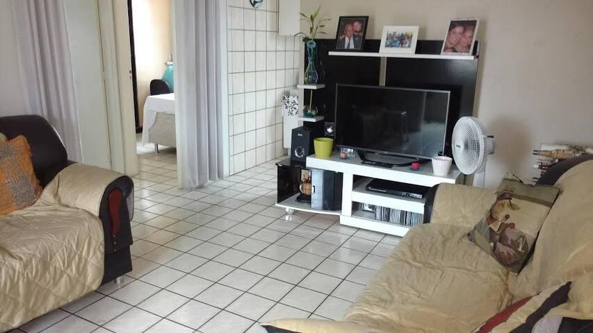 Próximo a UFPE quarto confortável. - Recife - Flat