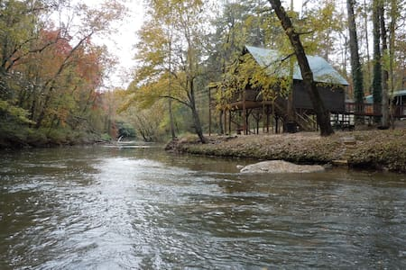 Our River Cabin on the Tallulah River.