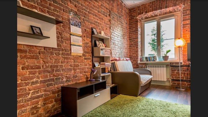 Уютная квартира в историческом центре Петербурга.