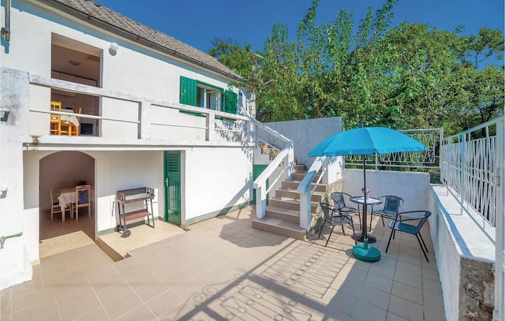 Awesome home in Povile with 1 Bedrooms and WiFi