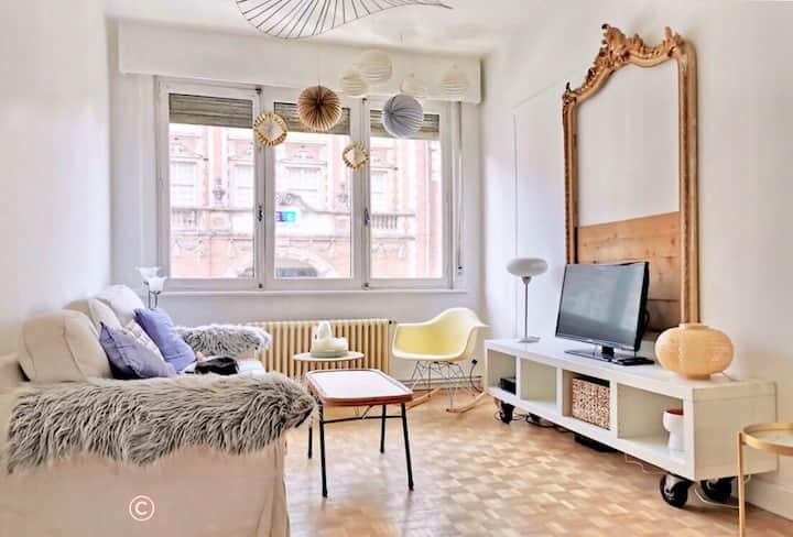 Appartement meublé en centre ville de Roubaix