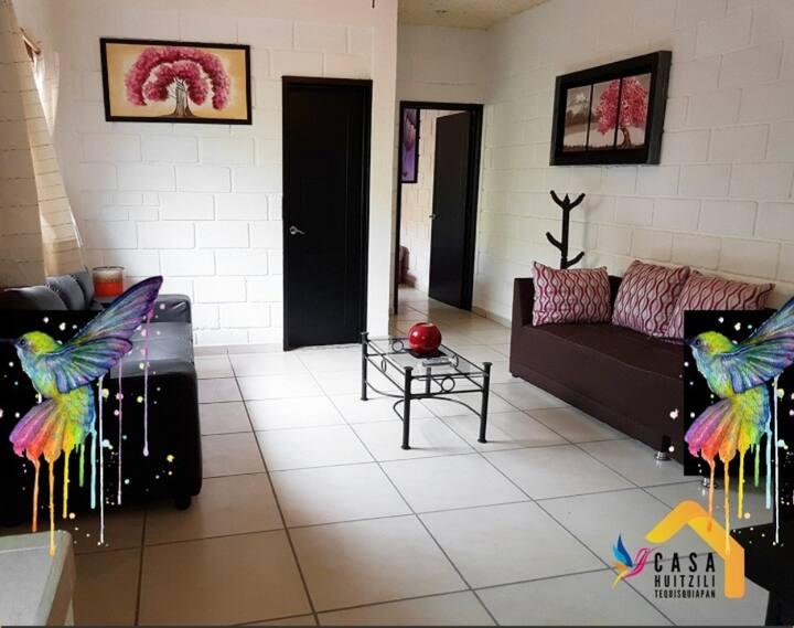 """Tu casa """"Casa Huitzili"""" en Tequisquiapan."""