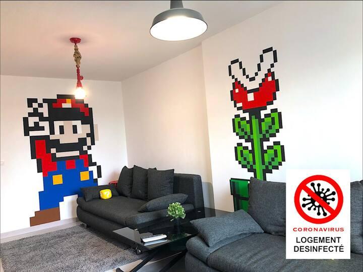 👑 Mario Dream House (6 pers) 🔵 🔴