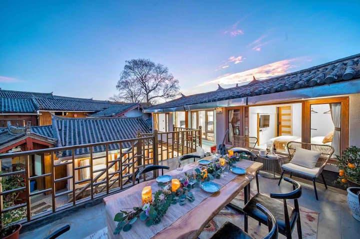 泊云小院/三居轻奢美宿,安静' 可做饭•聚餐•接机•静享度假生活。