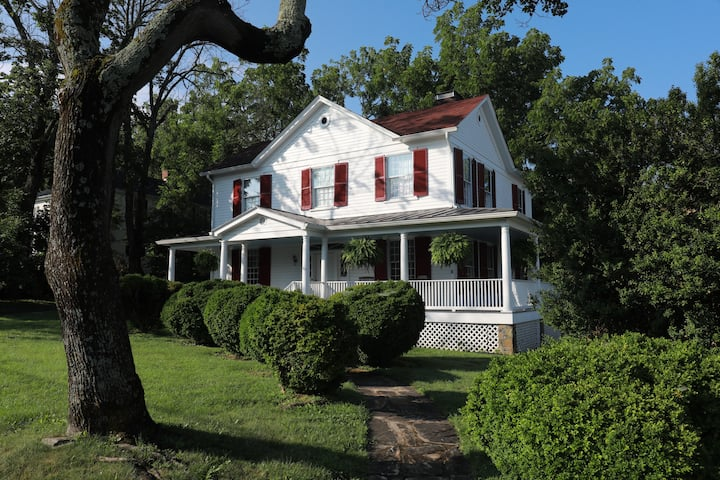 Southern Historic Home & Art Interest Throughout