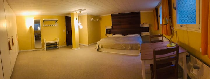 Spacious and quiet room in Tennenlohe