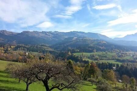 Chalet de montagne pour vacances d'été et d'hiver - Le Champ-prés-Froges