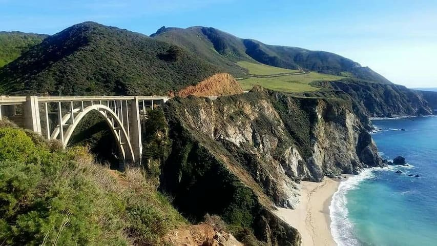 Bixby bridge, Big Sur, 20 minutes from my home.