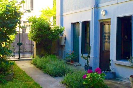 Jolie maison t2 duplex,jardin - Aix-les-Bains - Casa
