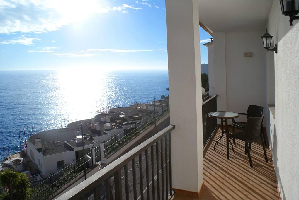 Balcón del apartamento