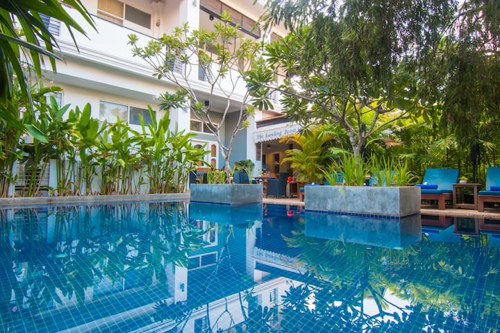Double Room Balcony (Pool) - PICK-UP/BREAKFAST