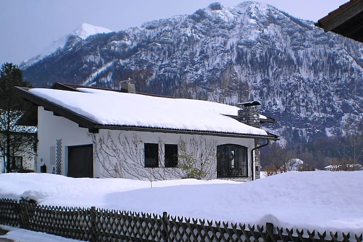 Lovely detached mansion in Chiemgau with large garden and sauna