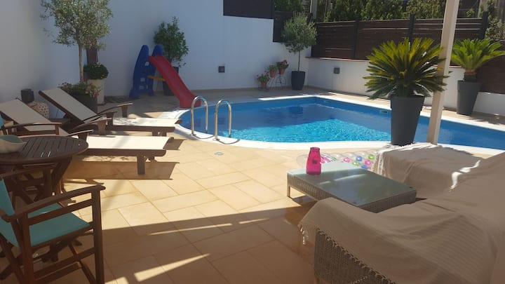 Seaview villa with private pool