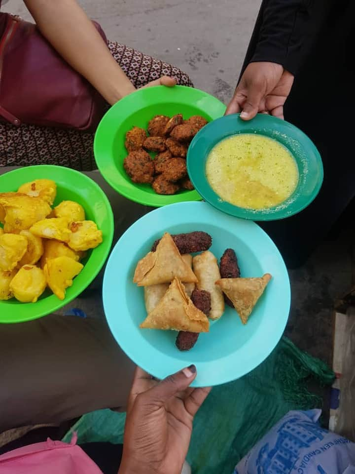 Swahili finger foods