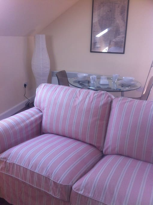 Cosy seating area