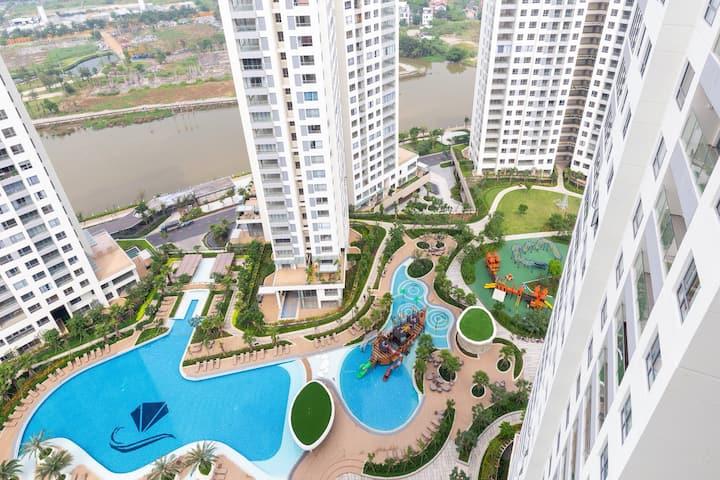 Diamond Island Apartment 2brs for Rent