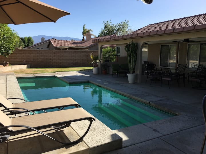 Relax in our Palm Desert home