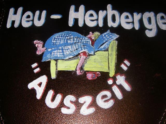 """Gästehaus der Heu-Herberge-""""Auszeit"""""""