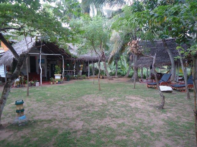 Lake view cabana paradise