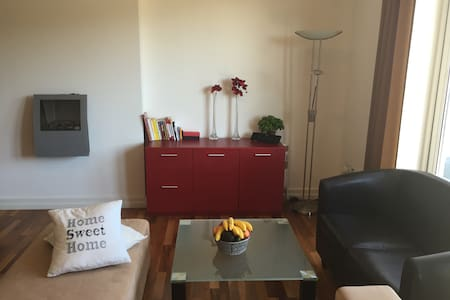 Penthouse Double Room with breakfast &parking spot - Cork