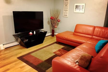 1 Cozy Room 3mins walk to Train, 5mins to Airport - Boston - Townhouse