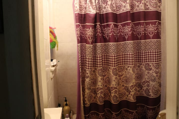 take a shower we have and toilet paper Bring your own towels and rag
