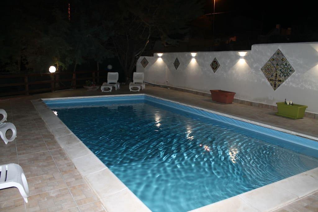 Casa vacanza con piscina villas louer alcamo - Mistretta piscine alcamo ...