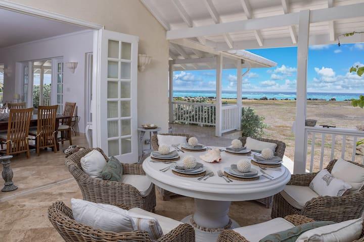 Whispering Palms ~ Stunning Ocean Front Villa