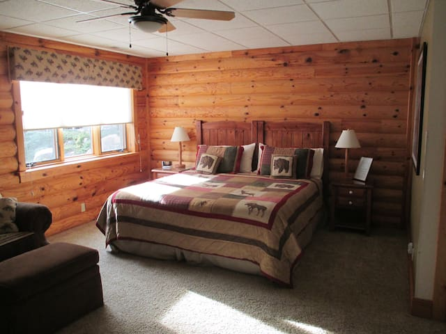 One spacious private room with separate entrance