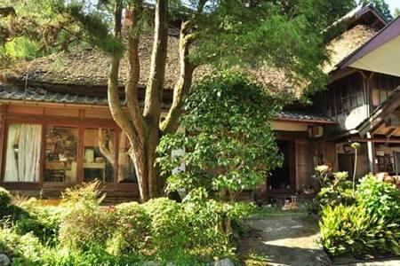 Organic life∞150year's Straw bale house.in Hita