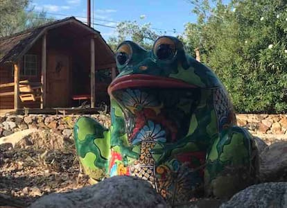 Desert cabin getaway